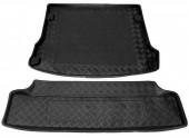 TM Rezaw-Plast Коврики в багажник Renault Logan MPV 2007 -> резино-пластиковый, комби, черный