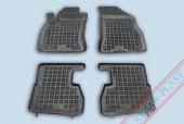 TM Rezaw-Plast Коврики в салон Fiat Doblo 2009-> Opel Combo C 2011-> полимерные (резиновые), черные 4шт
