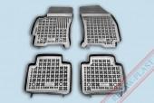 TM Rezaw-Plast Коврики в салон Ford Mondeo 2000-2007-> полимерные (резиновые), черный, 4 шт.