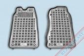 TM Rezaw-Plast Коврики в салон Ford Transit 2000-2006-> полимерные (резиновые), черный, 2 шт.