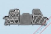 TM Rezaw-Plast Коврики в салон Ford Transit Custom 2012-> полимерные (резиновые), черный, 1 шт.