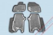 TM Rezaw-Plast Коврики в салон Honda Jazz 2008-> полимерные (резиновые), черный, 4 шт.