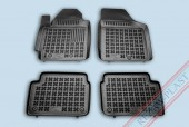 TM Rezaw-Plast Коврики в салон Hyundai i10 2007-> полимерные (резиновые), черный, 4 шт.