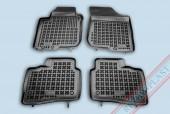 TM Rezaw-Plast Коврики в салон Hyundai i30 2009-2012-> полимерные (резиновые), универсал, черный, 4 шт.