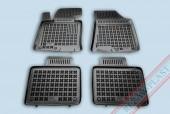TM Rezaw-Plast Коврики в салон Hyundai i40 2011-> полимерные (резиновые), черный, 4 шт.