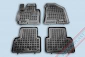 TM Rezaw-Plast Коврики в салон Hyundai ix-35 2010-> полимерные (резиновые), черный, 4 шт.