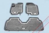 TM Rezaw-Plast Коврики в салон Hyundai ix20 2010-> полимерные (резиновые), задний цельный,черный, 3 шт.