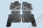 TM Rezaw-Plast Коврики в салон Hyundai Santa Fe 2006-2012-> полимерные (резиновые), черный, 4 шт.