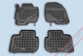 TM Rezaw-Plast Коврики в салон Mitsubishi Colt 2008-> полимерные (резиновые), черный, 4 шт.