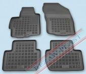 TM Rezaw-Plast Коврики в салон Mitsubishi Outlander XL 2005-2012-> полимерные (резиновые), черный, 4 шт.