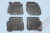 TM Rezaw-Plast Коврики в салон Nissan Almera N16 2000-2006-> полимерные (резиновые), черный, 4 шт.