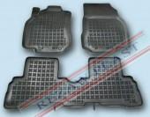 TM Rezaw-Plast Коврики в салон Nissan Cube 2010-> полимерные (резиновые), задний цельный, черный, 3 шт.
