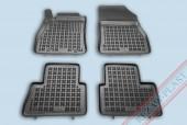 TM Rezaw-Plast Коврики в салон Nissan Juke 2010-> полимерные (резиновые), черный, 4 шт.