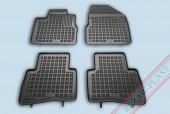 TM Rezaw-Plast Коврики в салон Nissan Murano 2003-2008-> полимерные (резиновые), черный, 4 шт.