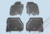 TM Rezaw-Plast Коврики в салон Nissan Navara 2005-> полимерные (резиновые), черный, 4 шт.
