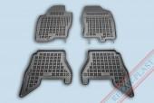 TM Rezaw-Plast Коврики в салон Nissan Pathfinder 2008-> полимерные (резиновые), черный, 4 шт.