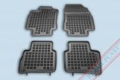 TM Rezaw-Plast Коврики в салон Nissan Tiida 2006-2011-> полимерные (резиновые), черный, 4 шт.