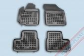 TM Rezaw-Plast Коврики в салон Opel Agila B 2008-> полимерные (резиновые), черный, 4 шт.