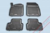TM Rezaw-Plast Коврики в салон Opel Astra J 2009-> полимерные (резиновые), черный, 4 шт.