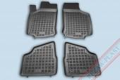 TM Rezaw-Plast Коврики в салон Opel Corsa C 2000-2006-> полимерные (резиновые), черный, 4 шт.