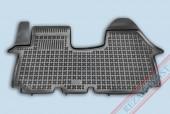 TM Rezaw-Plast Коврики в салон Opel Vivaro 2001-2010/Trafic II 2001-> полимерные (резиновые), черный, 1 шт.