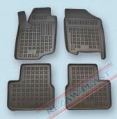 TM Rezaw-Plast Коврики в салон Peugeot 207 2006-2009-> полимерные (резиновые), черный, 4 шт.