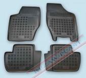 TM Rezaw-Plast Коврики в салон Peugeot 308 2007-> полимерные (резиновые), черный, 4 шт.