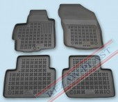 TM Rezaw-Plast Коврики в салон Peugeot 4007 2008-> полимерные (резиновые), черный, 4 шт.