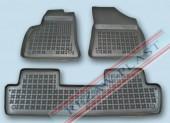 TM Rezaw-Plast Коврики в салон Peugeot 5008 2010-> полимерные (резиновые), черный, 3 шт.