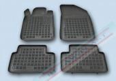 TM Rezaw-Plast Коврики в салон Peugeot 508 2011-> полимерные (резиновые), черный, 4 шт.