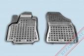 TM Rezaw-Plast Коврики в салон Peugeot Partner 2008-> полимерные (резиновые), черный, 2 шт.