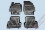 TM Rezaw-Plast Коврики в салон Renault Captur 2013-> полимерные (резиновые), черный, 4шт.