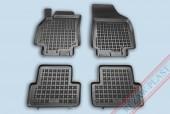 TM Rezaw-Plast Коврики в салон Renault Fluence 2009-2012-> полимерные (резиновые), черный, 4шт.