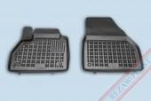 TM Rezaw-Plast Коврики в салон Renault Kangoo 2008-> полимерные (резиновые), передние, черный, 2шт.