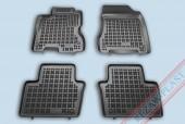 TM Rezaw-Plast Коврики в салон Renault Koleos 2008-> полимерные (резиновые), черный, 4шт.