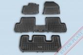 TM Rezaw-Plast Коврики в салон Renault Lodgy 2012-> полимерные, черный, 4шт.