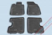TM Rezaw-Plast Коврики в салон Renault Sandero 2008-2012-> полимерные, черный, 4шт.