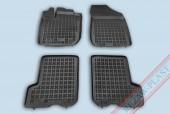 TM Rezaw-Plast Коврики в салон Renault Sandero 2013-> полимерные, черный, 4шт.