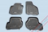 TM Rezaw-Plast Коврики в салон Seat Leon (2) 2005-> полимерные черные 4шт