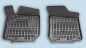 TM Rezaw-Plast Коврики в салон Skoda Octavia A-4 1996-2005-> полимерные (резиновые), передние, черный, 2 шт.