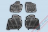 TM Rezaw-Plast Коврики в салон Skoda Rapid 2012-> полимерные, черный, 4шт.