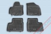 TM Rezaw-Plast Коврики в салон Suzuki Swift 2007-> полимерные (резиновые), черный, 4 шт.