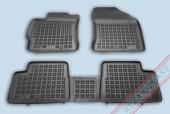TM Rezaw-Plast Коврики в салон Toyota Auris 2012-> полимерные, задний цельный, черный, 3шт.