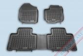TM Rezaw-Plast Коврики в салон Toyota RAV-4 2013-> полимерные, задний цельный, черный, 3шт.