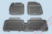 TM Rezaw-Plast Коврики в салон Toyota Yaris 2006-2011-> полимерные, задний цельный, черный, 3шт.