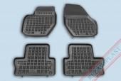 TM Rezaw-Plast Коврики в салон Volvo XC60 2008-> полимерные (резиновые), черный, 4 шт.