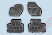 TM Rezaw-Plast Коврики в салон Volvo XC70 2007-> полимерные (резиновые), черный, 4 шт.