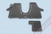 TM Rezaw-Plast Коврики в салон VW T5 Multivan 2003-> полимерные, черный, 2шт