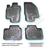 TM Rezaw-Plast Коврики в салон Daewoo Lanos 1996-> полимерные черные 4шт