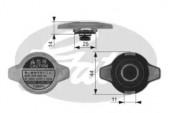Gates RC134 Крышка радиатора